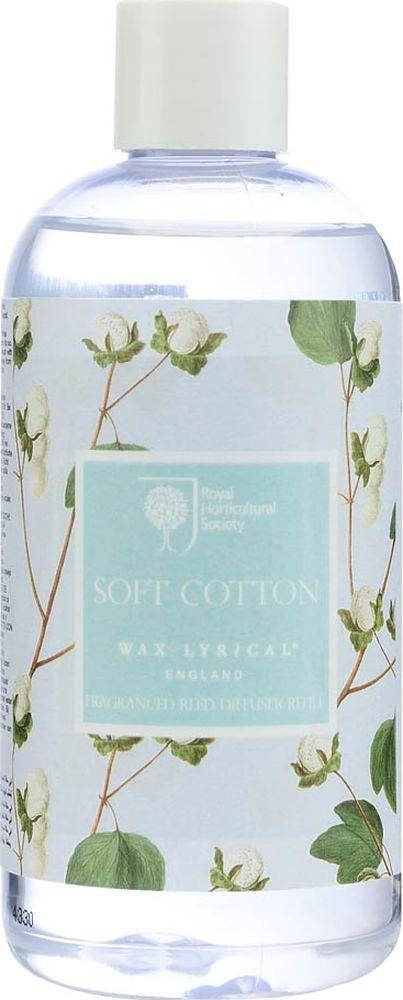 Наполнитель для ароматического диффузора Wax Lyrical Цветущий хлопокRH5529Деликатный цветочный аромат фиалки, лилии и цветов хлопка на основе мускуса