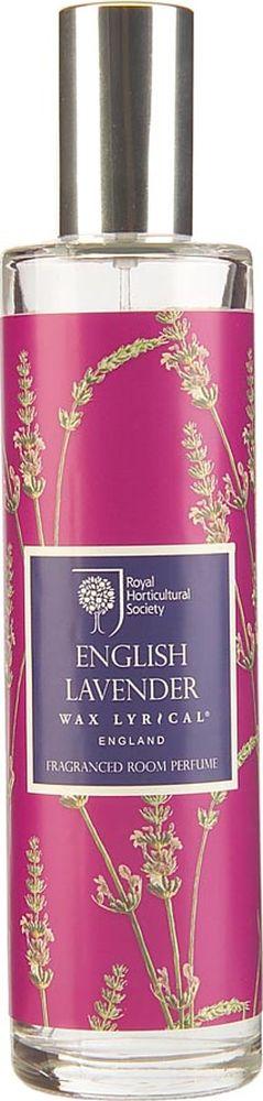 Ароматизатор интерьерный Wax Lyrical Цветущая лаванда, 100 млRH5710Классический английский аромат лаванды с тонкими нотками бергамота и полевой ромашки.