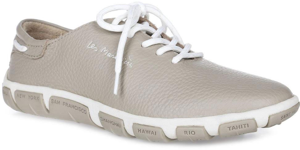 Кроссовки женские TBS Jazaru, цвет: светло-серый. JAZARU-B7017. Размер 39 (38)JAZARU-B7017Стильные женские кроссовки Jazaru от TBS - это легкость и свобода движения каждый день! Функциональные, практичные, удобные, они подходят для городской жизни и активного отдыха. Дизайн обуви позволяет носить ее под одежду любого стиля. Модель выполнена из натуральной кожи. Внутренняя отделка и стелька также исполнены из кожи. Шнуровка контрастного цвета надежно фиксирует изделие на ноге. Резиновая подошва с рельефной поверхностью обеспечивает идеальное сцепление. В таких кроссовках вы всегда будете выглядеть модно и стильно и, конечно же, не останетесь незамеченной.