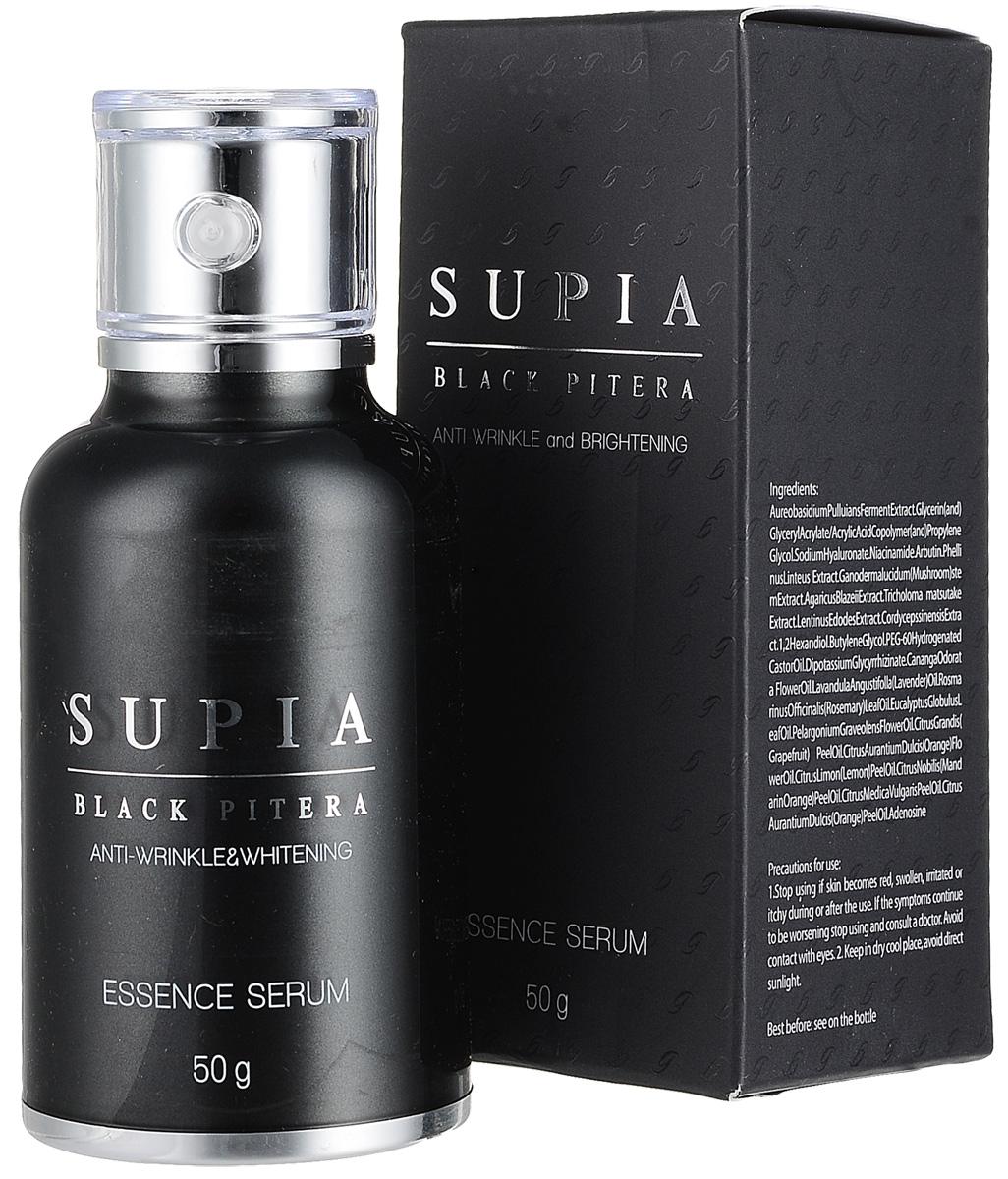 Supia Black сыворотка, 50 мл355035Сыворотка Supia Black Pitera. Доставляет глубоко в кожу увлажнение и питание. Гиалуроновая кислота с ультранизкой молекулярной массой предотвращает потерю влаги, сохраняя кожу мягкой. Действие: увлажнение, улучшение цвета кожи, повышение упругости, укрепление