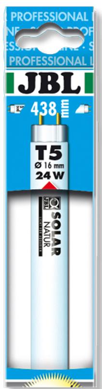 Лампа люминесцентная JBL Solar Ultra Natur, полного солнечного спектра, для пресноводных аквариумов, Т5, 45 Вт, 9000 К, длина 89,5 смJBL6175400JBL SOLAR ULTRA NATUR - Люминесцентная Т5 лампа полного солнечного спектра для пресноводных аквариумов, 45 ватт, 895 мм., 9000 кельвинов