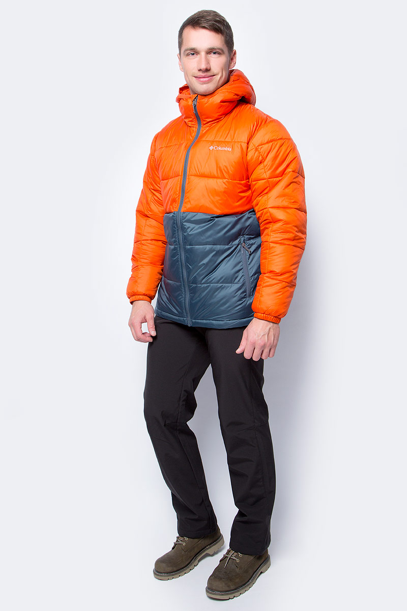 Куртка мужская Columbia Munson Point Insulated Jacket M, цвет: темно-синий. 1732851-435. Размер XXL (56/58)