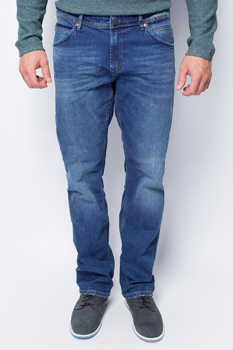 Джинсы мужские Tom Tailor, цвет: синий. 6255018.00.12_1303. Размер 30-32 (46-32) джинсы мужские tom tailor цвет синий 6205177 01 10 1053 размер 29 34 44 46 34