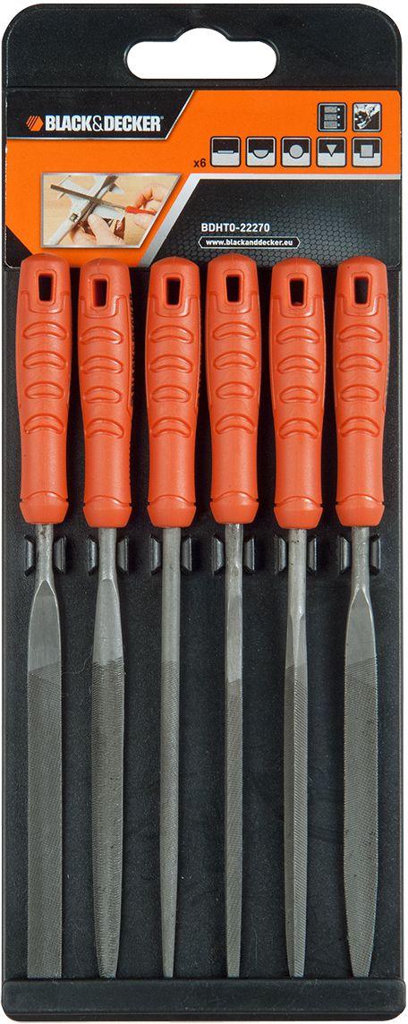 Набор надфилей Black & Decker. BDHT0-22270 black lt decker компрессор масляный