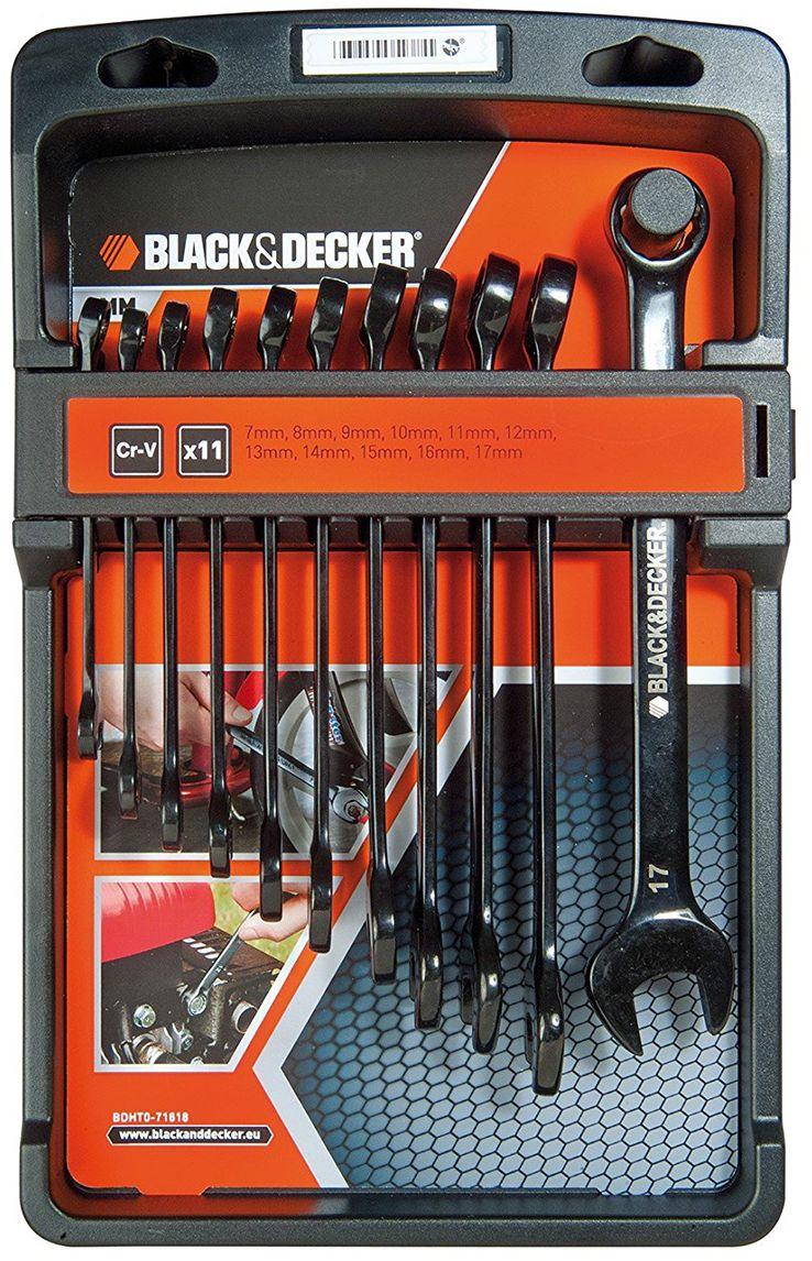 Набор комбинированных ключей Black & Decker. BDHT0-71618BDHT0-71618Набор комбинированных ключей