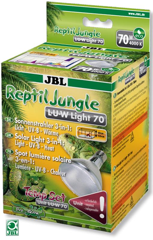 Лампа JBL ReptilJungle L-U-W Light 35W, металлогалогенная, для освещения и обогрева тропических террариумов, 35 ВтJBL6187600JBL ReptilJungle L-U-W Light 35W - Металлогалогенная лампа для освещения и обогрева тропических террариумов, 35 ватт