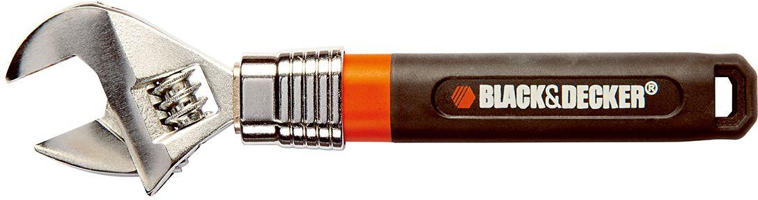 Ключ разводной Black & Decker. BDHT0-71629 ключ разводной truper pet