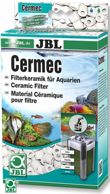 Кольца керамические JBL Cermec, 1 лJBL6237500JBL Cermec может использоваться как для предварительной фильтрации крупных частиц, так и в качестве наполнителя для биологической фильтрации. Благодаря эффективной структуре в виде полых колец, предоставляет хорошие возможности для расселения полезных бактерий при одновременно оптимальной пропускной способности.