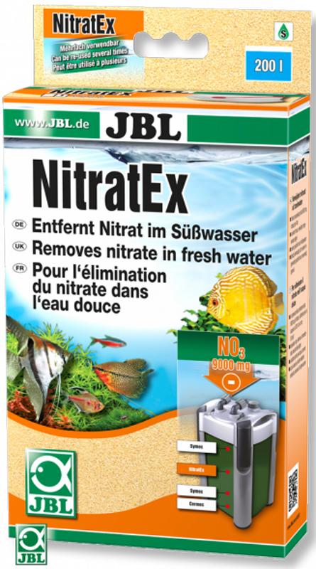 Материал фильтрующий JBL NitratEx, для быстрого удаления нитратов, с мешком, 250 млJBL6253700Фильтрующий материал JBL NitratEx предотвращает появление и устраняет нежелательные водоросли. Можно использовать многократно благодаря регенерации поваренной солью. Только для пресноводного аквариума. Для пресной и морской воды: 250 мл связывают 9000 мг нитратов.Применение: положите фильтрующий материал в универсальный мешок и поместите в фильтр. В комплекте: NitratEx 250 мл, в том числе сетчатый мешок и зажим.