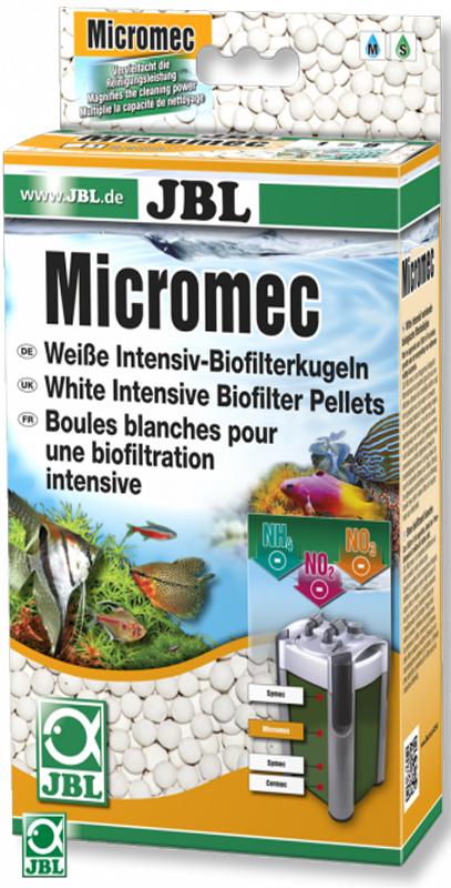 Шарики для биофильтрации JBL MicroMec, 650 гJBL6254800JBL MicroMec - Шарики для биофильтрации, 650 г.