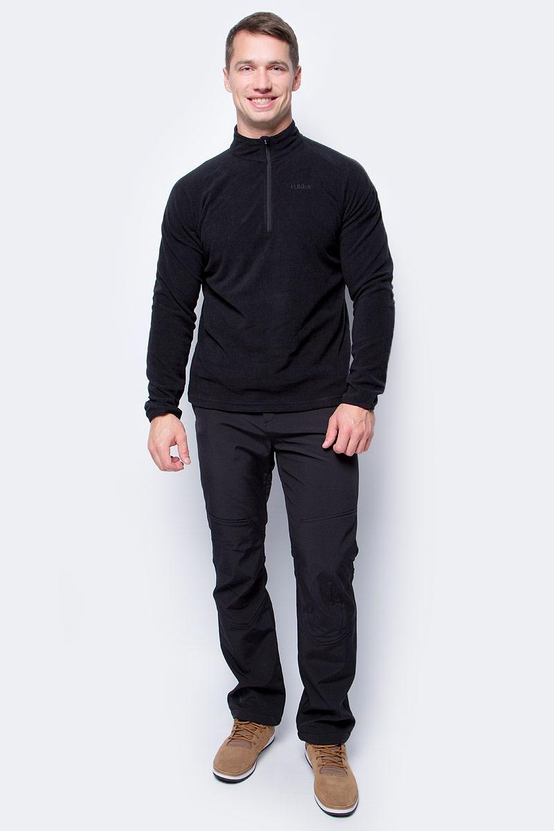 Брюки мужские Luhta, цвет: черный. 838801382LV_990. Размер 52838801382LV_990Мужские брюки от Luhta выполнены из высококачественного материала. Модель застегивается на кнопку в талии и ширинку на молнии. Спереди брюки дополнены двумя врезными карманами