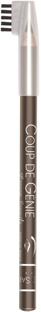 Vivienne Sabo Карандаш для бровей Coup de Genie, тон №002, цвет: светло-коричневый, 0,9 гD215229002Брови идеальной формы, как на картинке? Легко! Ухоженные брови - основа профессионального макияжа и ухоженного внешнего вида.Карандаши универсальных оттенков корректирует форму и цвет бровей, маленькая расческа используется до и после нанесения карандаша. Безупречный вид бровей - гениальный ход в создании макияжа! Изюминка для бровей Coup de Genie для вас - обеспечивает эффект естественных натуральных бровей, выразительных и ухоженных.