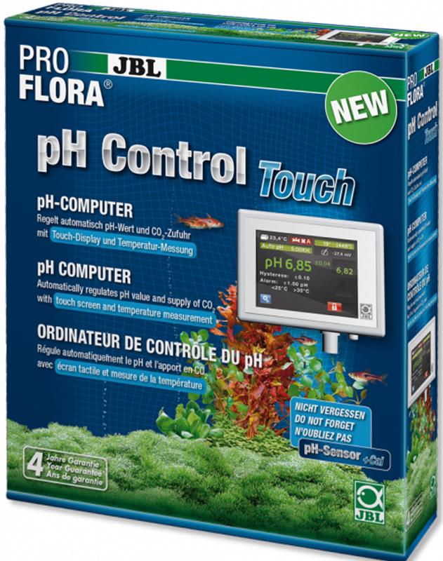 pH-контроллер JBL ProFlora pH Control Touch, для автоматической регулировки подачи CO2 ph detection ph sensor temperature sensor compensation module ph detection kit