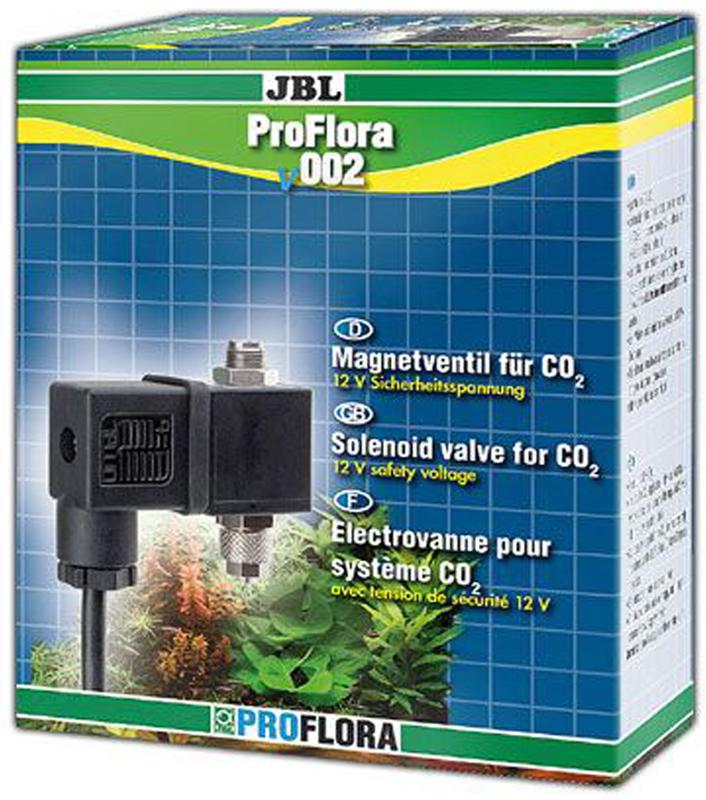 ЭМ-клапан для СО2 JBL ProFlora v002JBL6341300JBL ProFlora v002 - Бесшумный ЭМ-клапан для СО2 с безопасным напряжением 12 вольт