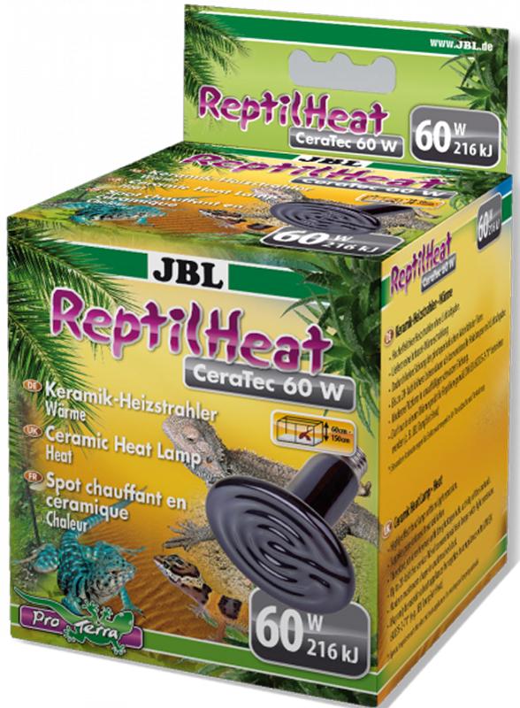 Излучатель тепла для террариумов JBL ReptilHeat, 60 ВтJBL7117300JBL ReptilHeat - Керамический излучатель тепла для террариумов, 60 ватт