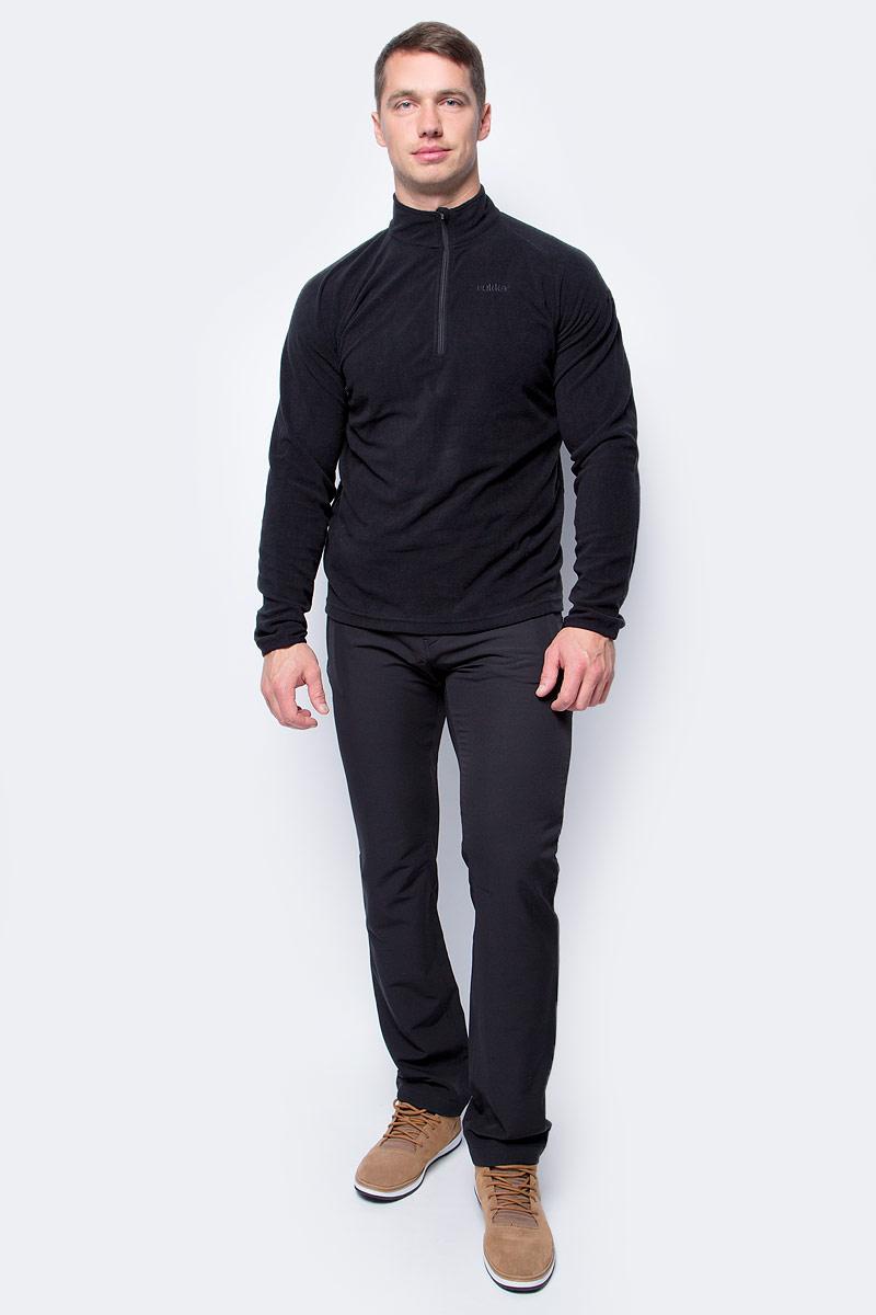 Брюки мужские Luhta, цвет: черный. 838828601LV_990. Размер 52838828601LV_990Мужские брюки от Luhta выполнены из высококачественного материала. Модель застегивается на пуговицу в талии и ширинку на молнии, имеются шлевки для ремня. Спереди брюки дополнены двумя врезными карманамина застежках-молниях, а также двумя врезными карманами на застежках-молниях сзади.