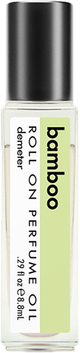 Demeter Fragrance Library Парфюмерное масло Бамбук (Bamboo), 8,8 млDM02278Думаете, сейчас будет рассказ о том, как быстро растет бамбук? Или как его любит большая панда? Нужно сказать, что бамбук в Китае, например, символизирует долголетие, в Индии— дружбу, а в Японии— неукротимую силу. В России бамбук теперь символизирует духи Demeter, которые принесут вам не только счастье, дружбу и долголетие, но и тонкий, травяной аромат.Способ применения: нанести на сухую, чистую кожу. На точки пульса.Парфюмерные масла - это концентрат, в состав которого входят только натуральные ароматические вещества. Парфюмерные масла, состоящие из масляной основы и сбалансированной парфюмерной композиции, обеспечивают стойкость аромата, поэтому запах держится очень долго. Отсутствие спирта делает ароматы менее летучими, не вызывает аллергической реакции и не высушивает кожу. Они не испаряются с кожи, а постепенно впитываются в нее.Товар сертифицирован.
