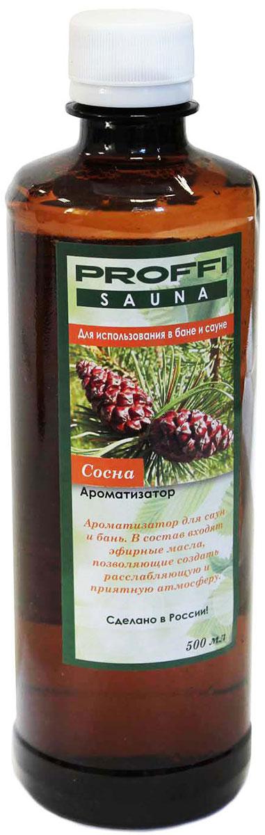 Ароматизатор Proffi Sauna Сосна, 500 млPS0004Ароматизатор Proffi Sauna Сосна для бани и сауны облегчает дыхание, снимает напряжение и оказывает релаксирующее действие. Сосновое масло также укрепляет иммунитет, отлично борется с головными и другими видами болей. Ведь неспроста с давних времен баню использовали как средство для профилактики и лечения от всевозможных болезней верхних дыхательных путей. Способ применения:Для поддачи пара 1/10 ароматизатора добавить в ковш с водой и поливать на камни.Состав: вода, натуральное масло сосны.Товар сертифицирован.Краткий гид по парфюмерии: виды, ноты, ароматы, советы по выбору. Статья OZON Гид