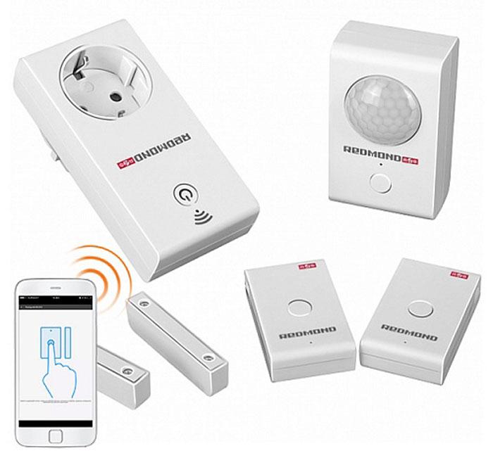 Redmond Умный комплект контроля и безопасности SkyGuard элемент питания cr2032 3v