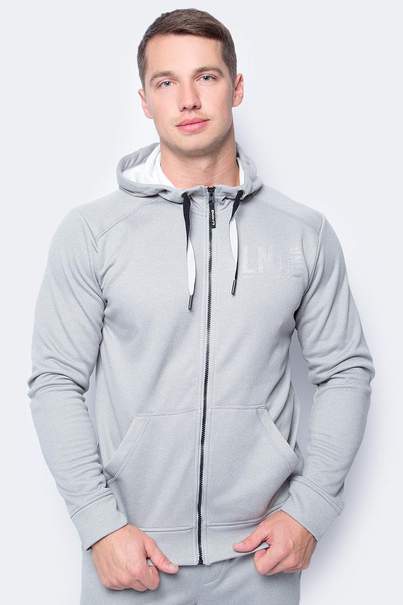 Толстовка мужская Li-Ning, цвет: светло-серый. 883382806AV_820. Размер S (48)