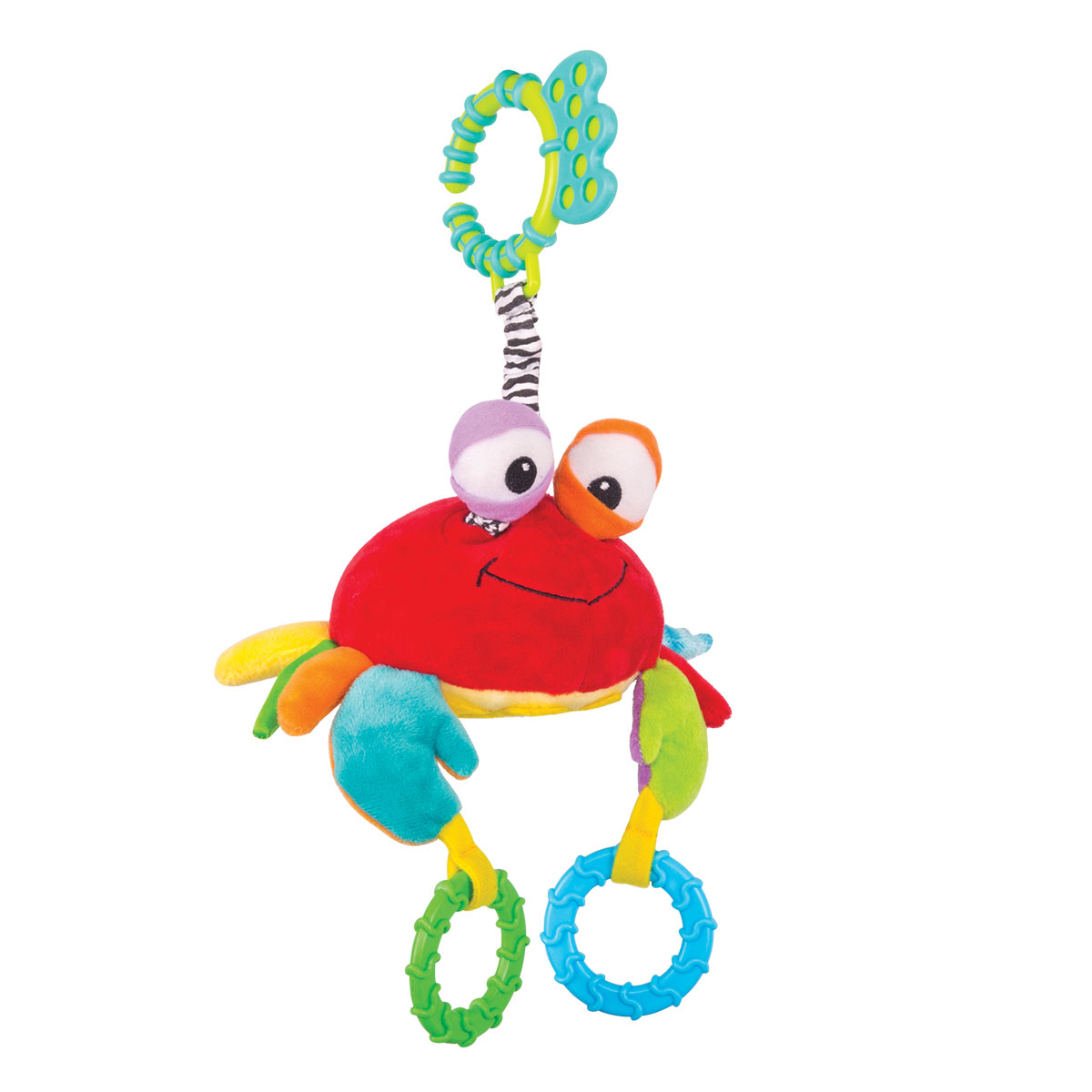 Happy Snail Игрушка-подвеска Краб Чарми golden snail 72v60v