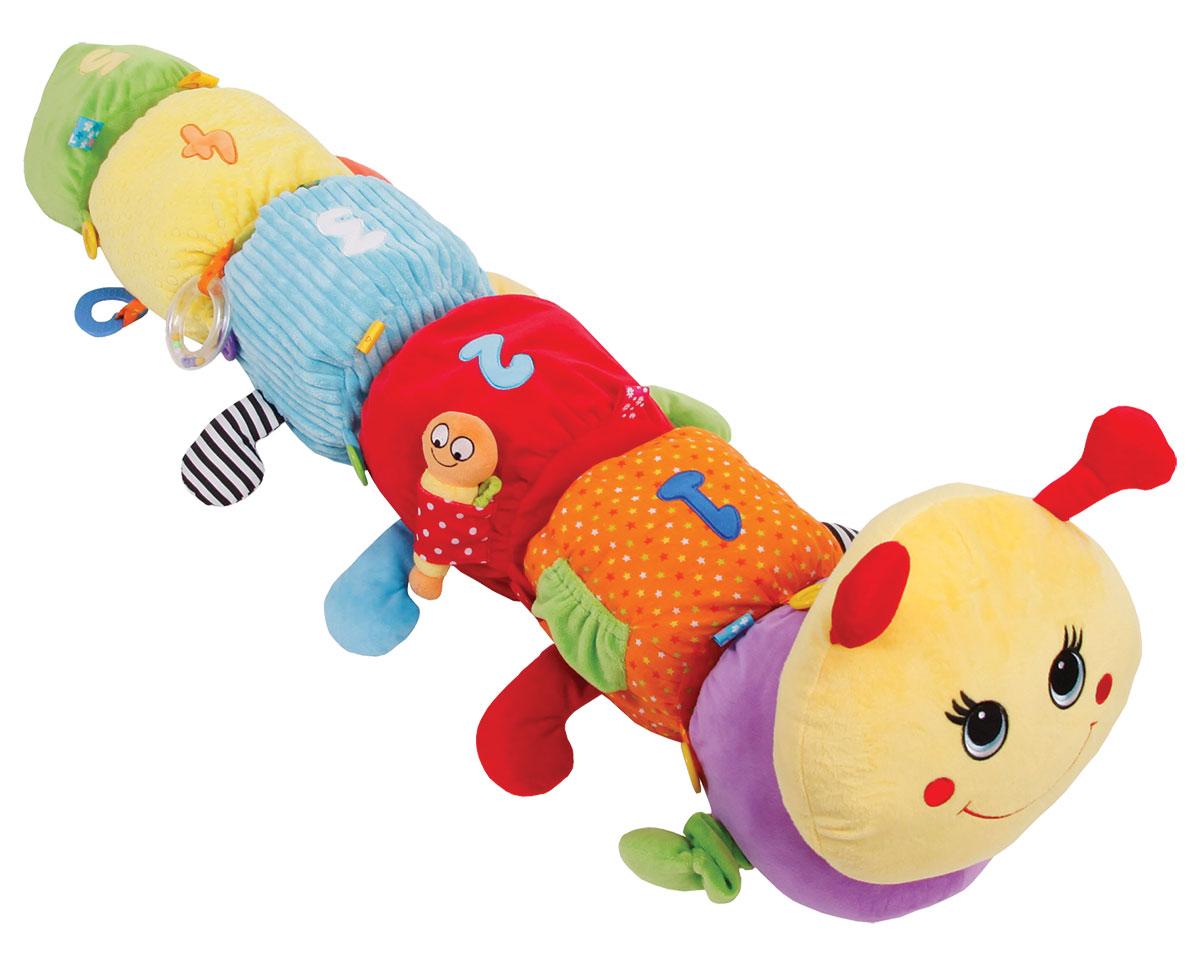 Happy Snail Развивающая игрушка Гусеница Мари развивающая игрушка в коляску гусеница