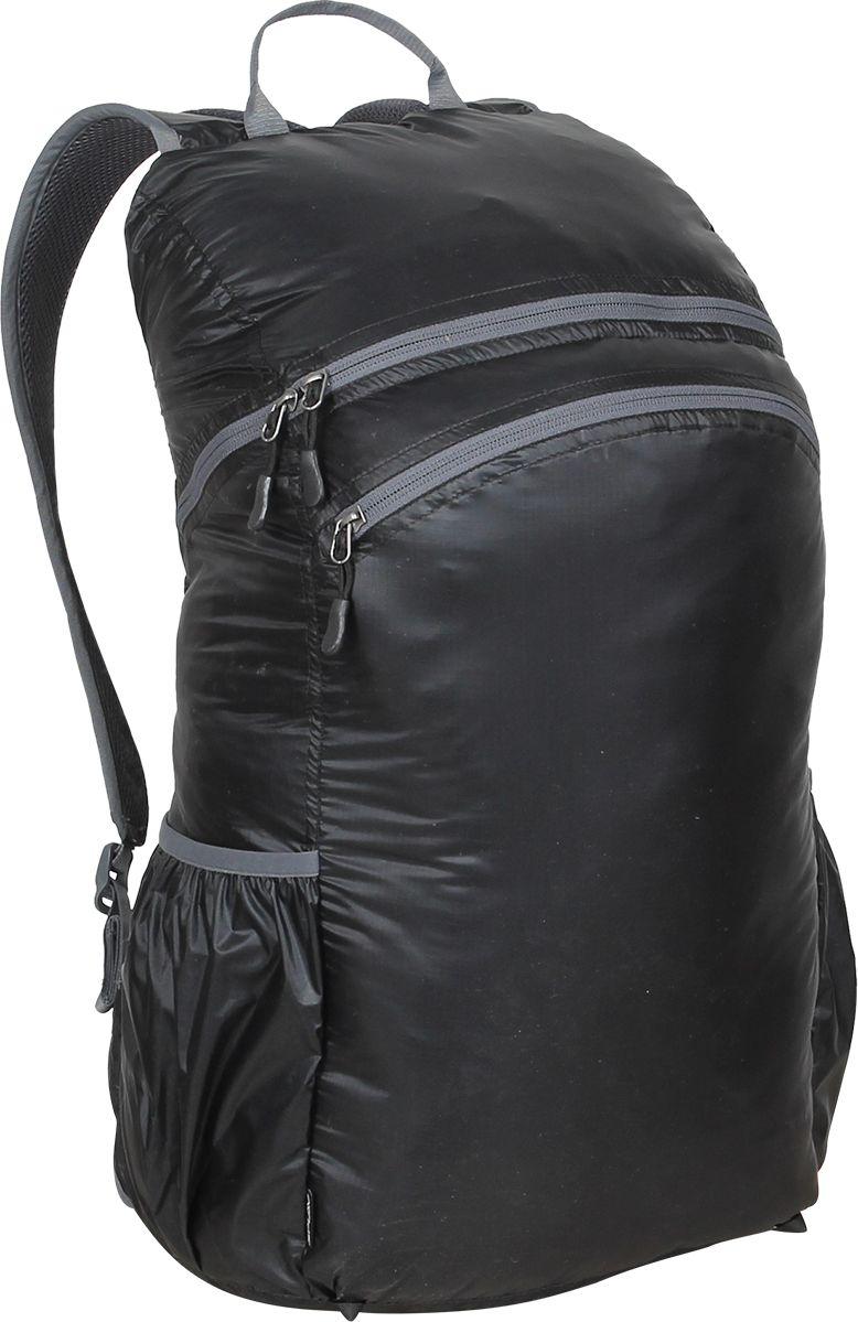 Рюкзак туристический Сплав Pocket Pack Pro, цвет: черный, 25 л5019740Лёгкий функциональный городской рюкзак с множеством скрытых кармановВход в основной объем на молнииМягкие валики с подкладкой из сетки Airmesh на спинке рюкзакаДва потайных кармана на спинке рюкзака. Один в верхней части под лямками и один вертикальный внизуОдин карман для мелочей внутри основного объемаДва перекрывающихся фронтальных кармана на фронтальной части рюкзака с удобными вертикальными молниями, с органайзером и дополнительными кармашкамиДва боковых кармана из сеткиЯчейки на лямках для размещения дополнительных подсумковНакидка от дождя в кармане на дне рюкзакаСъёмный, регулируемый поясной ремень из стропы 25 ммВозможно внешнее крепление скального оборудования. Объем: 25лВес: 0,9 кг