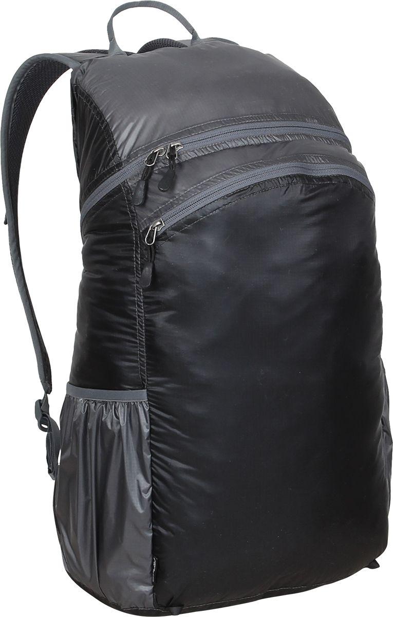 Рюкзак туристический Сплав Pocket Pack Pro, цвет: черный, серый, 25 л5019744Лёгкий функциональный городской рюкзак с множеством скрытых карманов.Вход в основной объем на молнии.Мягкие валики с подкладкой из сетки Airmesh на спинке рюкзака.Два потайных кармана на спинке рюкзака. Один в верхней части под лямками и один вертикальный внизу.Один карман для мелочей внутри основного объема.Два перекрывающихся фронтальных кармана на фронтальной части рюкзака с удобными вертикальными молниями, с органайзером и дополнительными кармашками.Два боковых кармана из сетки.Ячейки на лямках для размещения дополнительных подсумков.Накидка от дождя в кармане на дне рюкзака.Съёмный, регулируемый поясной ремень из стропы 25 мм.Возможно внешнее крепление скального оборудования. Объем: 25 лВес: 0,9 кг