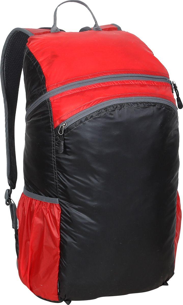 Рюкзак туристический Сплав Pocket Pack Pro, цвет: красный, 25 л5019748Лёгкий функциональный городской рюкзак с множеством скрытых кармановВход в основной объем на молнииМягкие валики с подкладкой из сетки Airmesh на спинке рюкзакаДва потайных кармана на спинке рюкзака. Один в верхней части под лямками и один вертикальный внизуОдин карман для мелочей внутри основного объемаДва перекрывающихся фронтальных кармана на фронтальной части рюкзака с удобными вертикальными молниями, с органайзером и дополнительными кармашкамиДва боковых кармана из сеткиЯчейки на лямках для размещения дополнительных подсумковНакидка от дождя в кармане на дне рюкзакаСъёмный, регулируемый поясной ремень из стропы 25 ммВозможно внешнее крепление скального оборудования. Объем: 25лВес: 0,9 кг