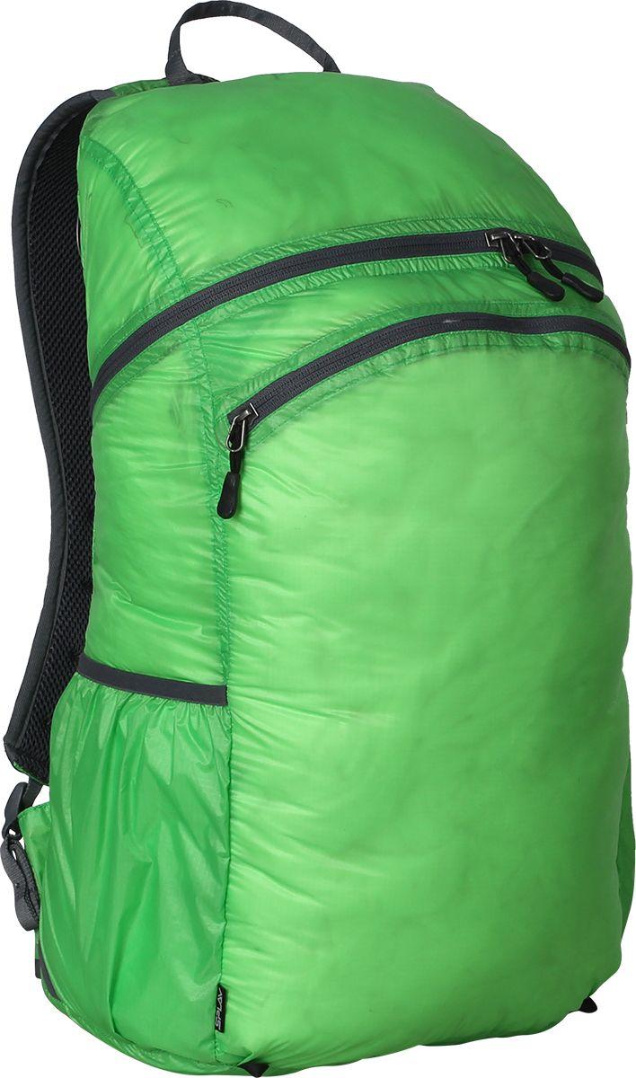 """Фото Рюкзак туристический Сплав """"Pocket Pack Pro"""", цвет: зеленый, 25 л"""