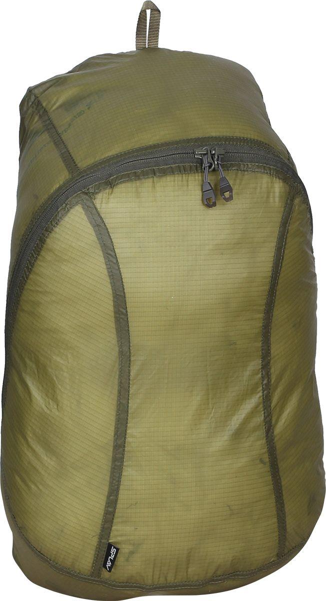 Рюкзак туристический Сплав Pocket Pack, цвет: оливковый, 18 л5020796Сверхлегкий рюкзак на молнии из ткани «силиконка», сворачивающийся во вшитый компактный чехол. Идеален для сверхлегкого туризма, радиальных выходов, в качестве повседневного городского рюкзакаТкань – «силиконка», очень легкий нейлоновый силиконизированный материалОсновной объем на двухзамковой молнии, на замках удобные ухваткиЭлементы жесткости отсутствуютЛямки с регулировкой легкой 10 мм стропойНебольшая ручка для переноски из стропыВ верхней части спины с изнанки вшит простой чехол в виде мешка, утягивающегося шнуром на фиксаторе. Имеется петля из тесьмы для пристегивания чехла к снаряжению. Малые габариты позволяют переносить чехол в кармане одеждыВсе основные швы – двойные. Нагруженные участки усилены закрепками-зигзагами. Размеры рюкзака в наполненном состоянии (Ш х Т х В): 28 х 20 х 45 смРазмер рюкзака в свёрнутом виде (Ш х Т х В): 5 х 5 х 10,5 смОбъем: 18 лВес: 79 г