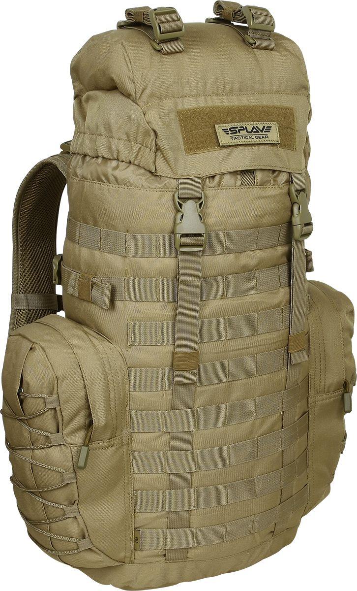 Рюкзак туристический Сплав РМ3, цвет: песочный, 35 л. 50225255022525Классический трехдневный рюкзак.Несъемные лямки с анатомическим силуэтом. Два слоя пены и сетка Airmesh для мягкости и вентиляции. Верхние оттяжки. Ячейки PALS для крепления подсумков выполнены методом лазерной резки в усиленной ткани, что обеспечивает лямкам тонкий профиль и плоскую поверхность, не мешая прикладке оружия.Cпинка рюкзака благодаря многослойной структуре имеет высокую жесткость и обеспечивает отличную вентиляцию.Вся свободная внешняя площадь рюкзака обшита стропами MOLLE.Съемный пояс из широкой стропы.Боковые карманы на молнии с утяжкой объема шнуровкой.Несъемный клапан, внешнее объемное отделение на молнии, дополнительный плоский карман на молнии для документов на внутренней стороне клапана.Точки крепления груза на клапане со съемными стяжками.Дополнительные точки крепления груза на дне. Объем: 35 л (с учетом боковых карманов и клапана)Вес: 1,25 кгОсновное отделение (Ш х В х Т): 31 х 55 х 18 смБоковой карман (2 шт) (Ш х В х Т): 16 х 27 х 6,5 смКарман на клапане (Ш х В х Т): 22 х 15 х 6,5 см