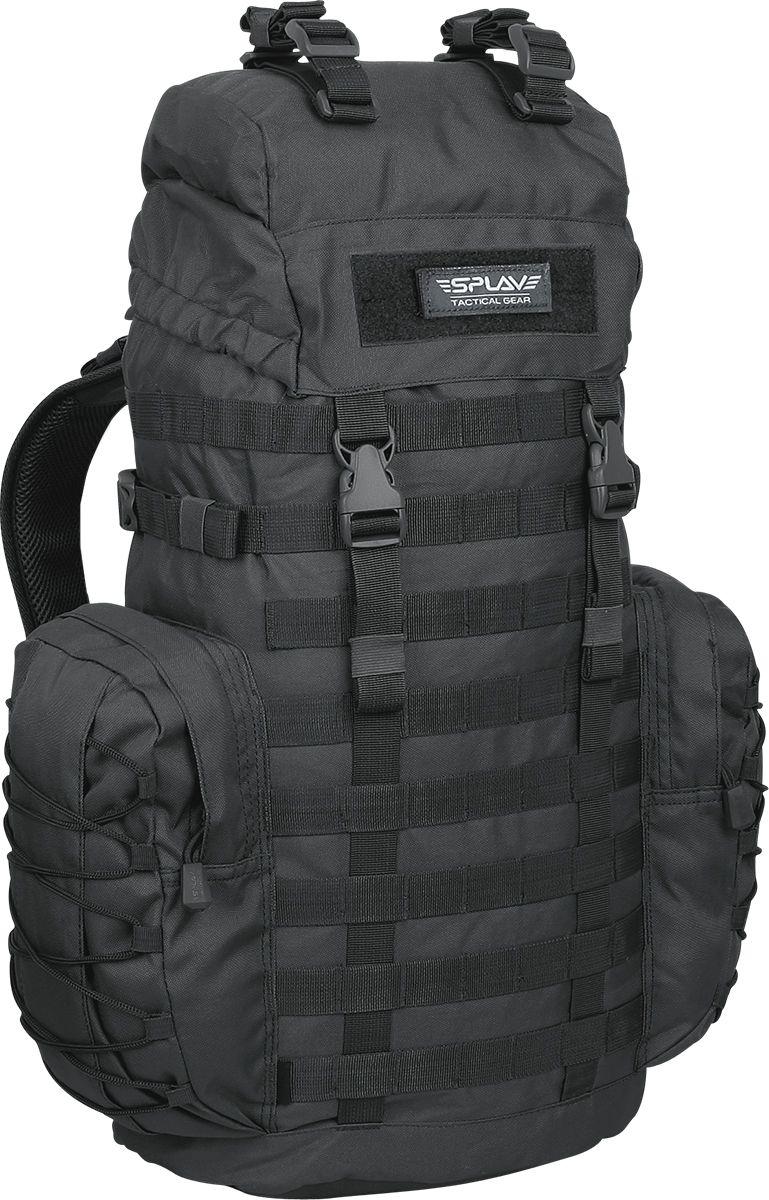 Рюкзак Сплав  РМ3 , тактический, цвет: черный, 35 л - Туристические рюкзаки