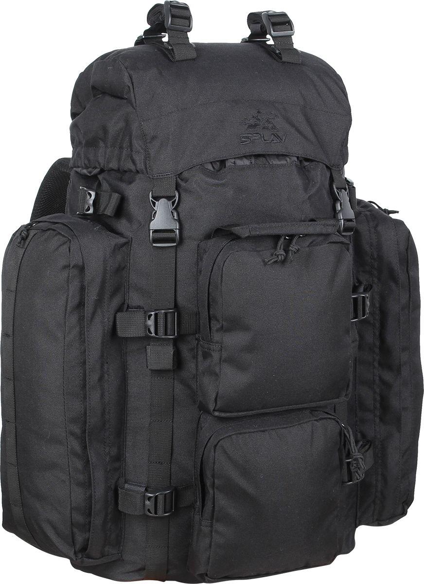 Рюкзак туристический Сплав  РК2 , цвет: черный, 50 л - Туристические рюкзаки