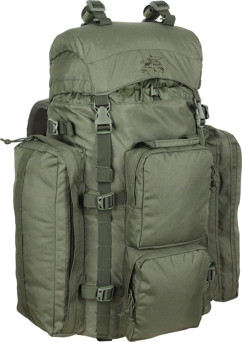 Рюкзак туристический Сплав  РК2 , цвет: оливковый, 50 л - Туристические рюкзаки