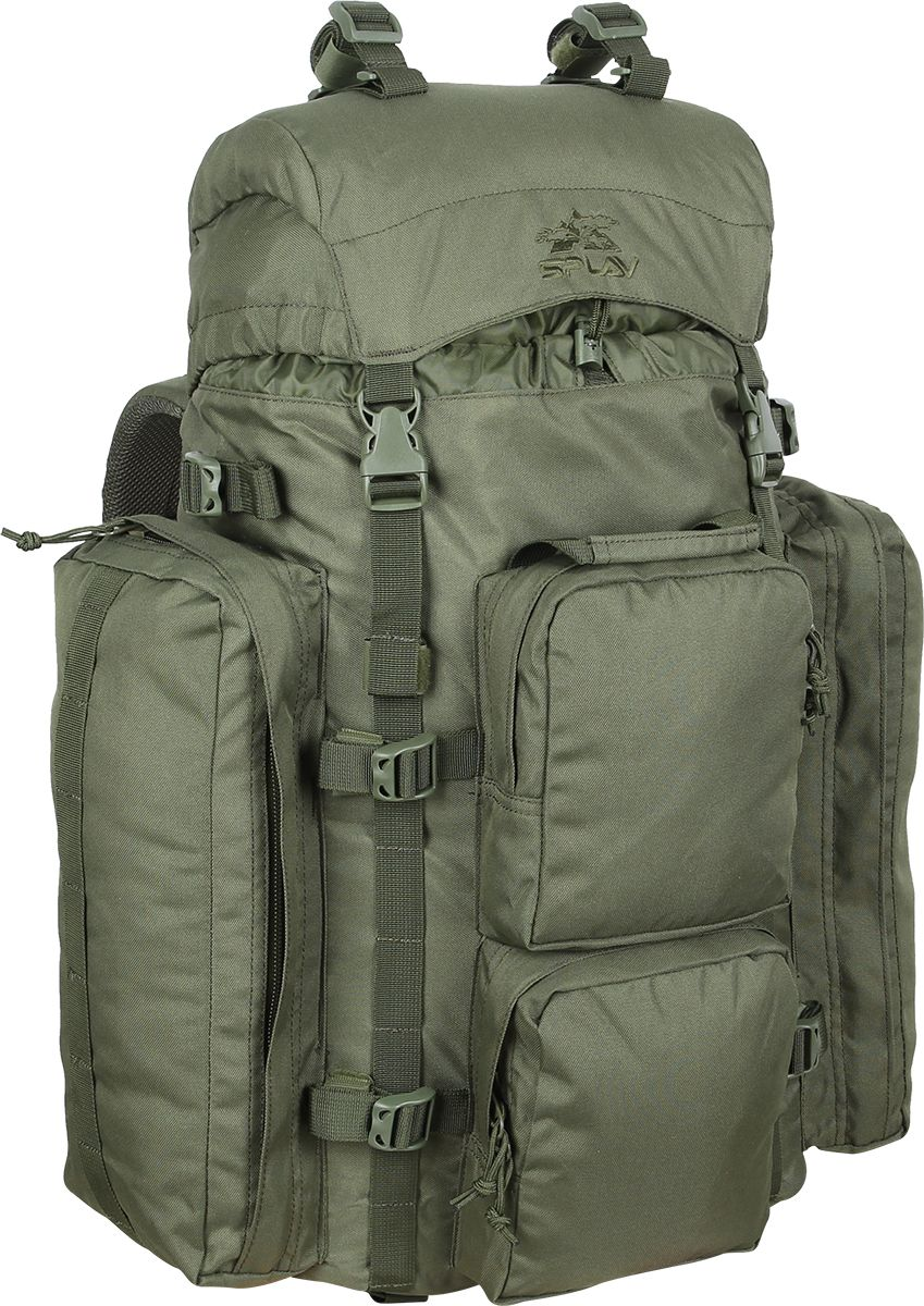 Рюкзак туристический Сплав РК2, цвет: оливковый, 50 л книги даръ симфония по творениям преподобных оптинских старцев в 2 х т т 1