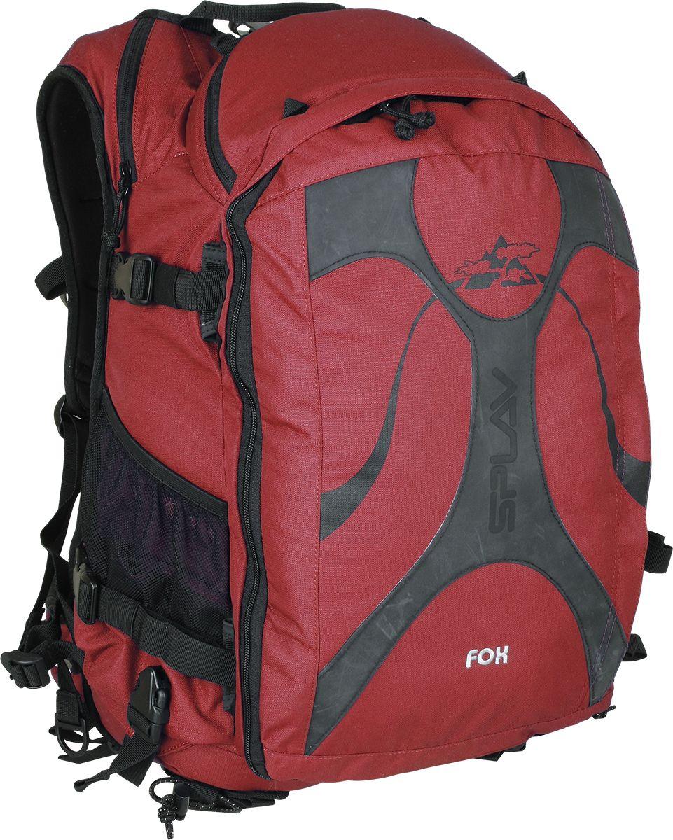 Рюкзак туристический Сплав Fox, цвет: красный, 28 л5028988Функциональный туристический рюкзак Сплав Fox для серьезного фрирайда, ски-тура, беккантри. Рюкзак имеет анатомическую форму спины и лямок.Вход в основной объем со спины на надежной застежке молния продублирован внутренними компрессионными стяжками.На модели предусмотрен карман под питьевую систему.Откидывающийся карман под лавинную лопату, позволяющий обеспечить легкий доступ к лопате.Два дополнительных внутренних кармана на молнии.Удобные карманы по бокам, позволяют закрепить ручку лавинной лопаты.Жесткий карман под маску.Два кармана на съемном поясе.Три варианта крепления лыж.Удобное крепление сноуборда, так, чтобы он не мешал при ходьбе.При необходимости подвесную систему типа маятник можно жестко зафиксировать.Возможность навески скального и ледового инструмента.Возможность навески дополнительного снаряжения.Объем: 28 л.Вес: 1,94 кг.Размер: 35 х 28 х 60 см.