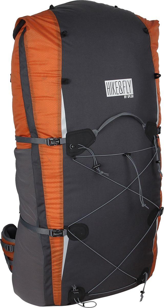 Рюкзак туристический Сплав  Hike & Fly 80 , цвет: кирпичный - Туристические рюкзаки