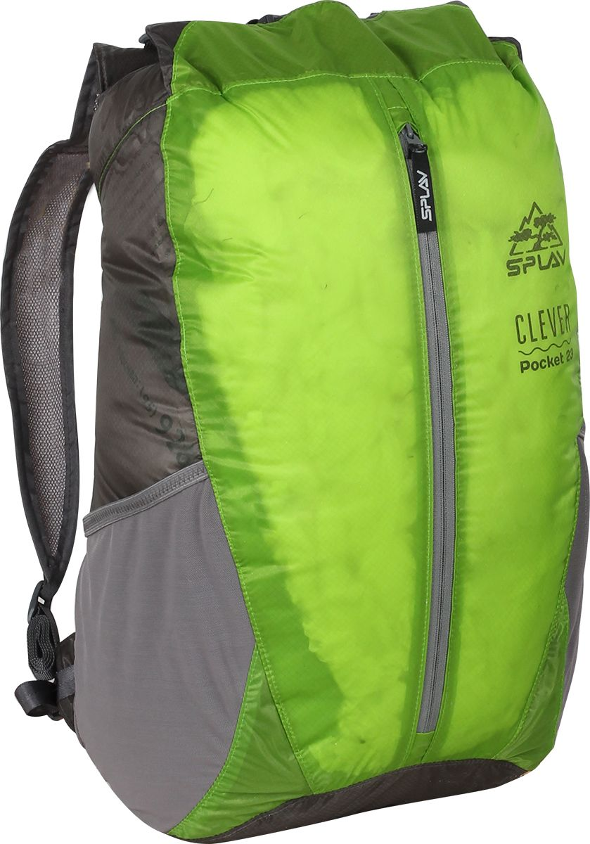 Рюкзак туристический Сплав Clever Pocket 23, цвет: зеленый, 23 л5047323Рюкзак туристический Сплав Clever Pocket 23 изготовлен из очень прочной и легкой тканиULTRALIGHT CORDURA NYLON с силиконовой обработкой не пропускает воду, а все швы рюкзака проклеены.При 23 л вместимости, весит рюкзак при этом всего 142 г, и в сложенном виде умещается в небольшой мешочек, который можно пристегнуть к поясу или положить в карман анорака.Сочетание подобных качеств особенно актуально для любителей альпийского стиля восхождений, мультигонок, ориентирования, походов выходного дня и легкоходов.Дышащие лямки с подкладкой из сетки, плечевые оттяжки, верх закручивается на скрутку и защелкивается фастексом, легкий регулируемый пояс, плоский внешний карман на молнии, боковые карманы из сетки.Идеально подходит для туризма и активного отдыха на природе.Объем: 23 л.Вес: 142 г.