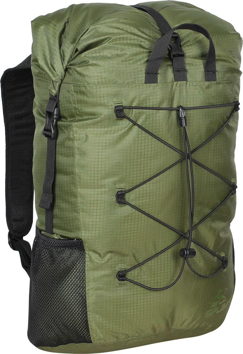 Рюкзак туристический Сплав  Trialon , цвет: темно-зеленый, черный, 37 л - Туристические рюкзаки