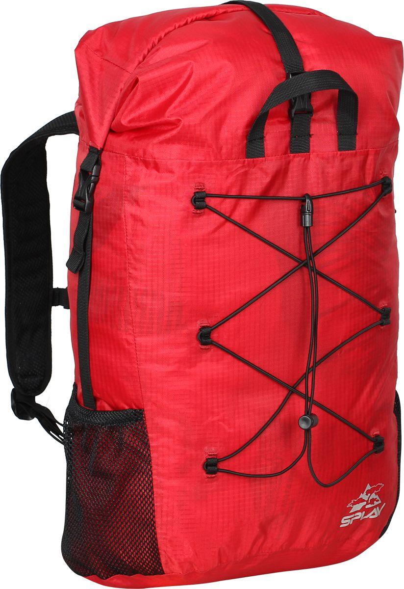 Рюкзак туристический Сплав Trialon, цвет: красный, черный, 37 л5122288Легкий небольшой, влагозащитный рюкзак Сплав Trialon, изготовленный из Polyester 200D Double line R/S 1500 мм, отлично подойдет для туризма.Все швы изделия проклеены.Вход в основное отделение закрывается скруткой. Скрутка дополнительно фиксируется фастексом.Перфорированные мягкие вставки в спинке и лямках рюкзака обеспечивают хорошую вентиляцию при переноске. Изделие практически не впитывает влагу ввиду отсутствия элементов из поролона.Грудная стяжка легко регулируется по высоте.Поясной ремень и грудная стяжка из узкой легкой стропы с фастексами.Боковые стенки рюкзака дополнены карманами из сетки.Две петли сверху для переноски рюкзака.Эластичная шнуровка для каски.Внимание! Рюкзак сделан из облегченных материалов и не предназначен для использования в роли гермомешка!.Вес: 366 г.Объем: 37 л.Размеры (Ш х T х B): 33 х 22 х 52 см.