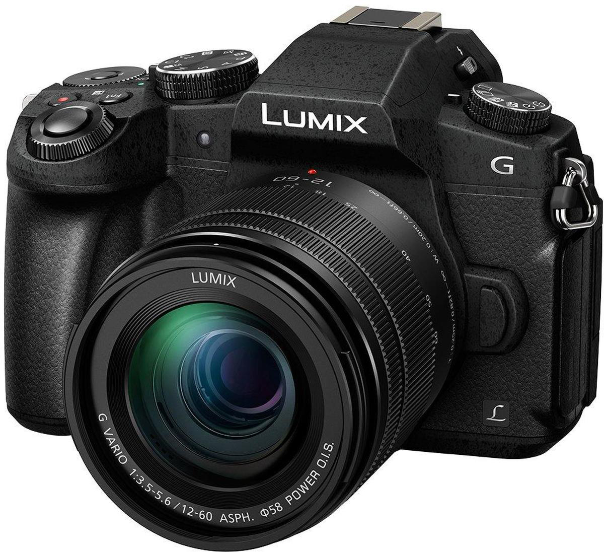 Panasonic Lumix DMC-G80 Kit 12-60mm, Black цифровая фотокамераDMC-G80MEE-KСистемный фотоаппарат Panasonic Lumix DMC-G80 Kit 12-60mm f/3.5-5.6 ASPH. POWER O.I.S. Lens