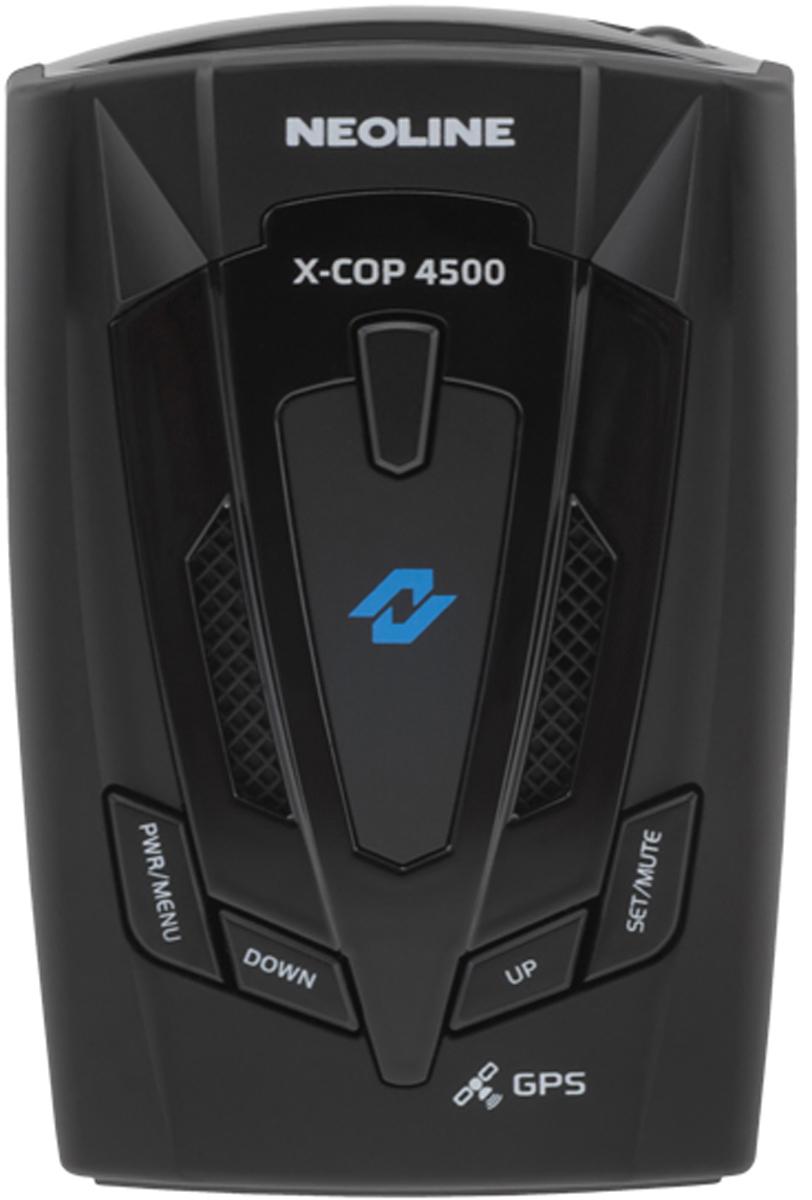 Neoline X-COP 4500 радар-детекторX-COP 4500Радар-детектор Neoline X-COP 4500 GPS приемник