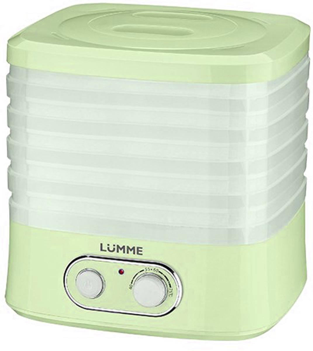 Lumme LU-1853, Green дегидратор - Техника для хранения, консервации и заготовок