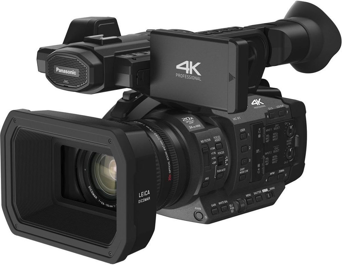 Panasonic HC-X1, Black камкордер