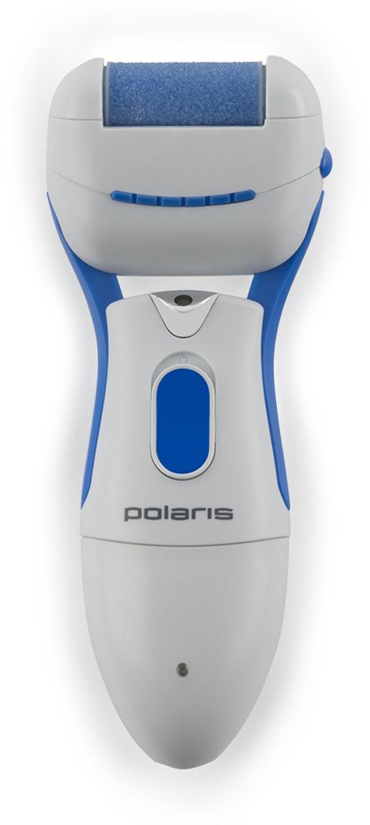 Polaris PSR 1016R педикюрный набор для ухода за кожей7259Педикюрный набор для ухода за кожей Polaris PSR 1016R с яркой светодиодной подсветкой предназначен для деликатного удаления сухих мозолей и огрубевшей кожи стоп, без предварительного распаривания.Всего за несколько минут стопы приобретут гладкость и ухоженный вид, как после салона. Прибор имеет эргономичную форму, благодаря чему удобно помещается в ладони. В комплект входят две вращающиеся насадки, которые меняются простым защелкиванием. Съемная защитная крышка предотвращает повреждение ролика и попадания на него различных загрязнений.Прибор работает от аккумулятора для максимально комфортного использования и свободы движений.