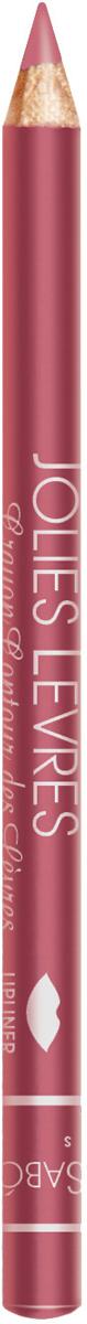 Vivienne Sabo Карандаш для губ Jolies Levres тон 107, 0,9 гD215239107Приятно скользящая текстура карандаша позволяет очень легко очертить контур губ. Классические карандаши, обладающие насыщенным цветом, одним движением создают безупречно ровную линию. Универсальные цвета карандашей подходят по цвету к любой помаде и блеску. Даже не обладая навыками, можно создать безупречно ровную линию одним движением. Изюминка классического карандаша Jolies Levres для вас - легкая, комфортная текстура карандашей, создавая четкий контур, предотвращает растекание губной помады и блеска. Макияж губ при использовании карандаша выглядит профессионально и дольше держится. Корректирует форму губ, предотвращает растекание помады или блеска. Незаменимое средство в возрастном макияже.