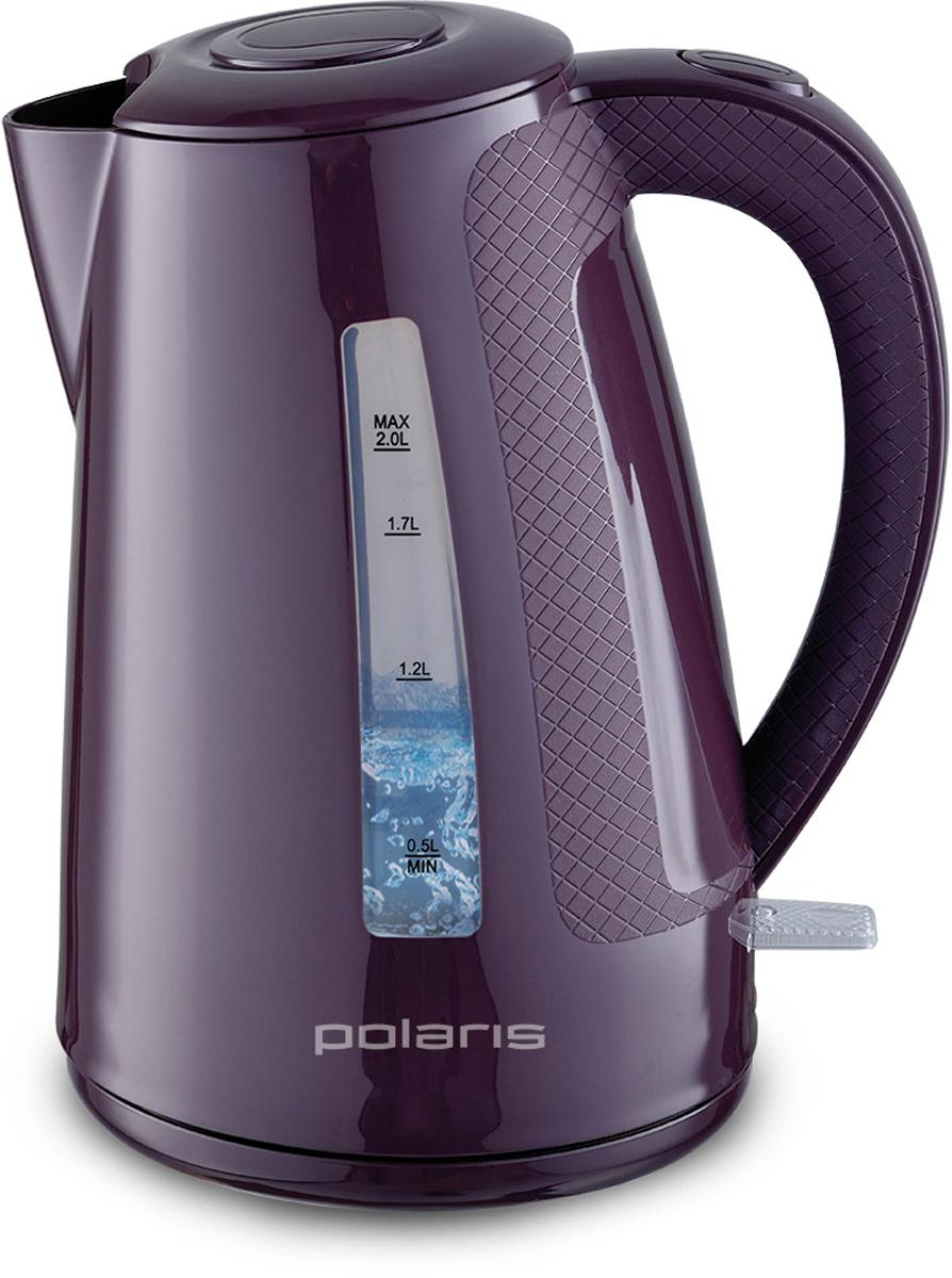 Polaris PWK 2016C электрический чайник6667Стильный чайник Polaris PWK 2016C в стильном корпусе из термостойкого пластика создаст особую атмосферу и подчеркнет индивидуальность вашей кухни.Удобный в использовании чайник имеет отсек для хранения шнура и вращающийся корпус, который поворачивается на 360°, что делает его очень удобной моделью.Но самым главным достоинством этого чайника является фильтр для очистки воды, который очистит жесткую водопроводную воду от вредных элементов.