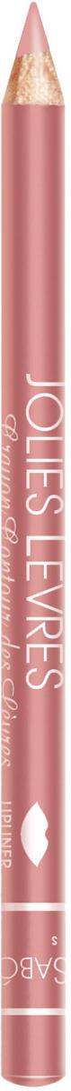 Vivienne Sabo Карандаш для губ Jolies Levres тон 108, 0,9 гD215239108Приятно скользящая текстура карандаша позволяет очень легко очертить контур губ. Классические карандаши, обладающие насыщенным цветом, одним движением создают безупречно ровную линию. Универсальные цвета карандашей подходят по цвету к любой помаде и блеску. Даже не обладая навыками, можно создать безупречно ровную линию одним движением. Изюминка классического карандаша Jolies Levres для вас - легкая, комфортная текстура карандашей, создавая четкий контур, предотвращает растекание губной помады и блеска. Макияж губ при использовании карандаша выглядит профессионально и дольше держится. Корректирует форму губ, предотвращает растекание помады или блеска. Незаменимое средство в возрастном макияже.