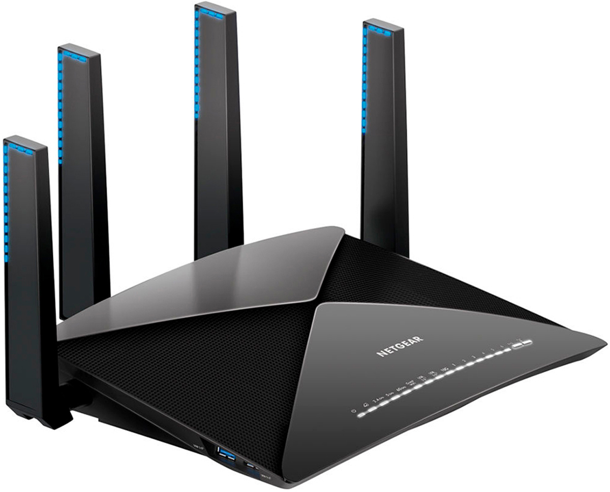 Zakazat.ru Netgear R9000 Nighthawk Smart AD7200, Black маршрутизатор
